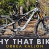 Why That Bike? | Orbea Rallon