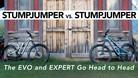 Specialized Stumpjumper EVO vs. Stumpjumper - See How They Compare