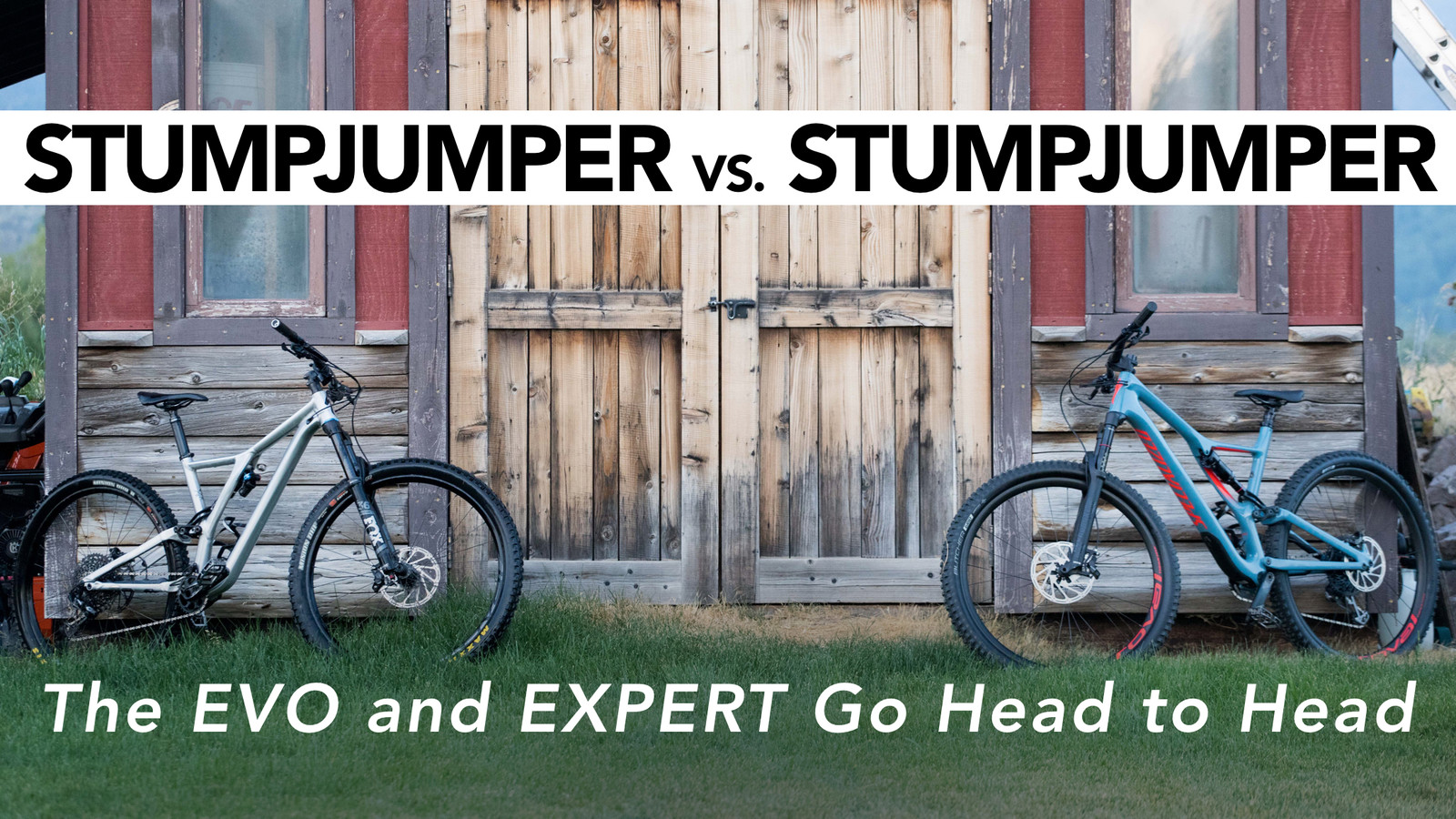 Specialized Stumpjumper EVO vs. Stumpjumper - See How They Compare