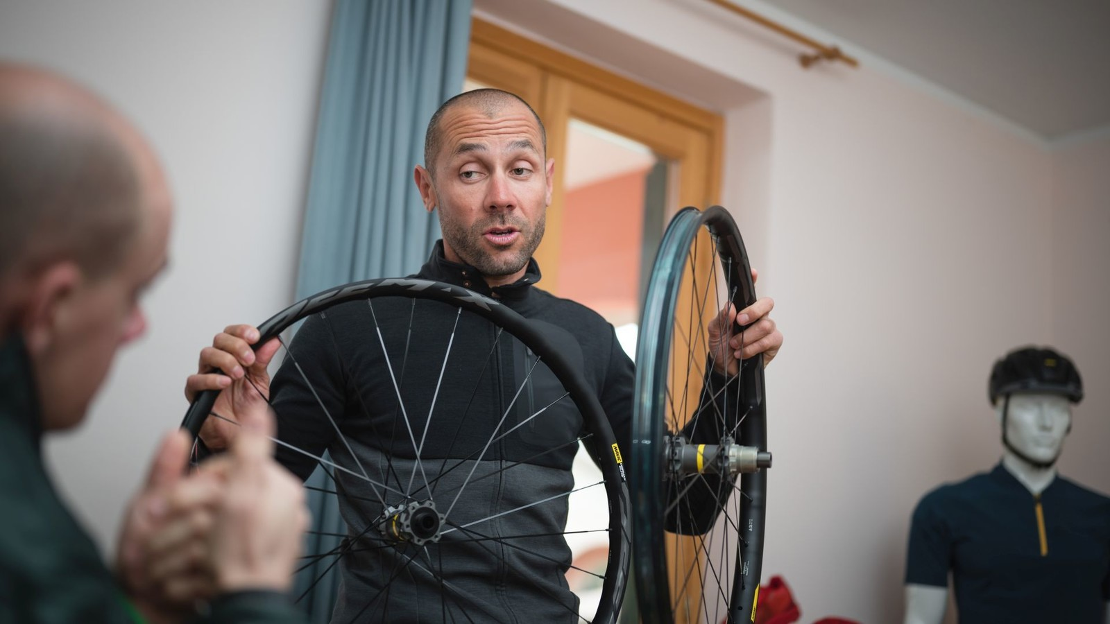 Fabien Barel Presents New Mavic Wheels | BCA 2019