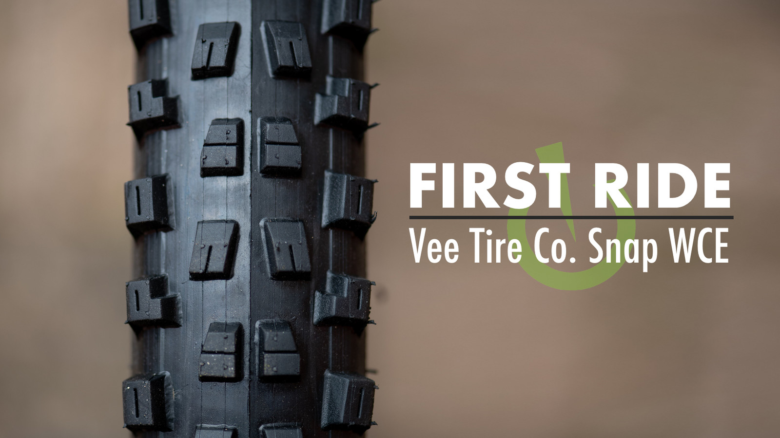 First Ride - Vee Tire Co's Snap WCE
