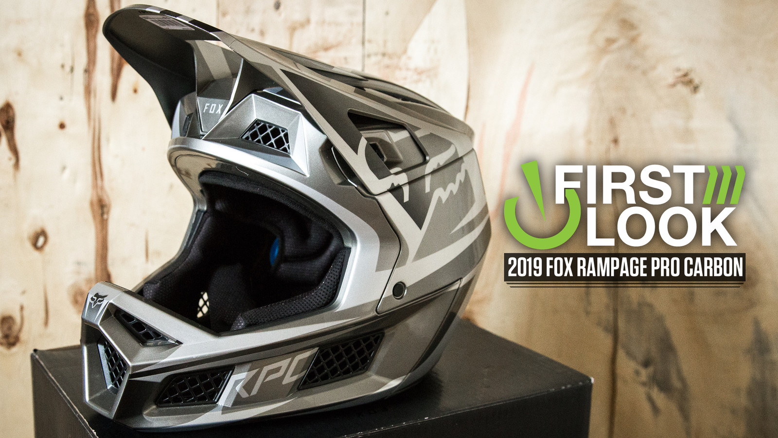 Fox's New Rampage Pro Carbon Gravity Helmet - First Look