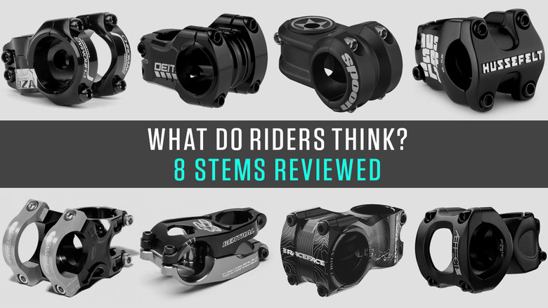 What Do Riders Think? Eight Stems Reviewed by Vital MTB Members