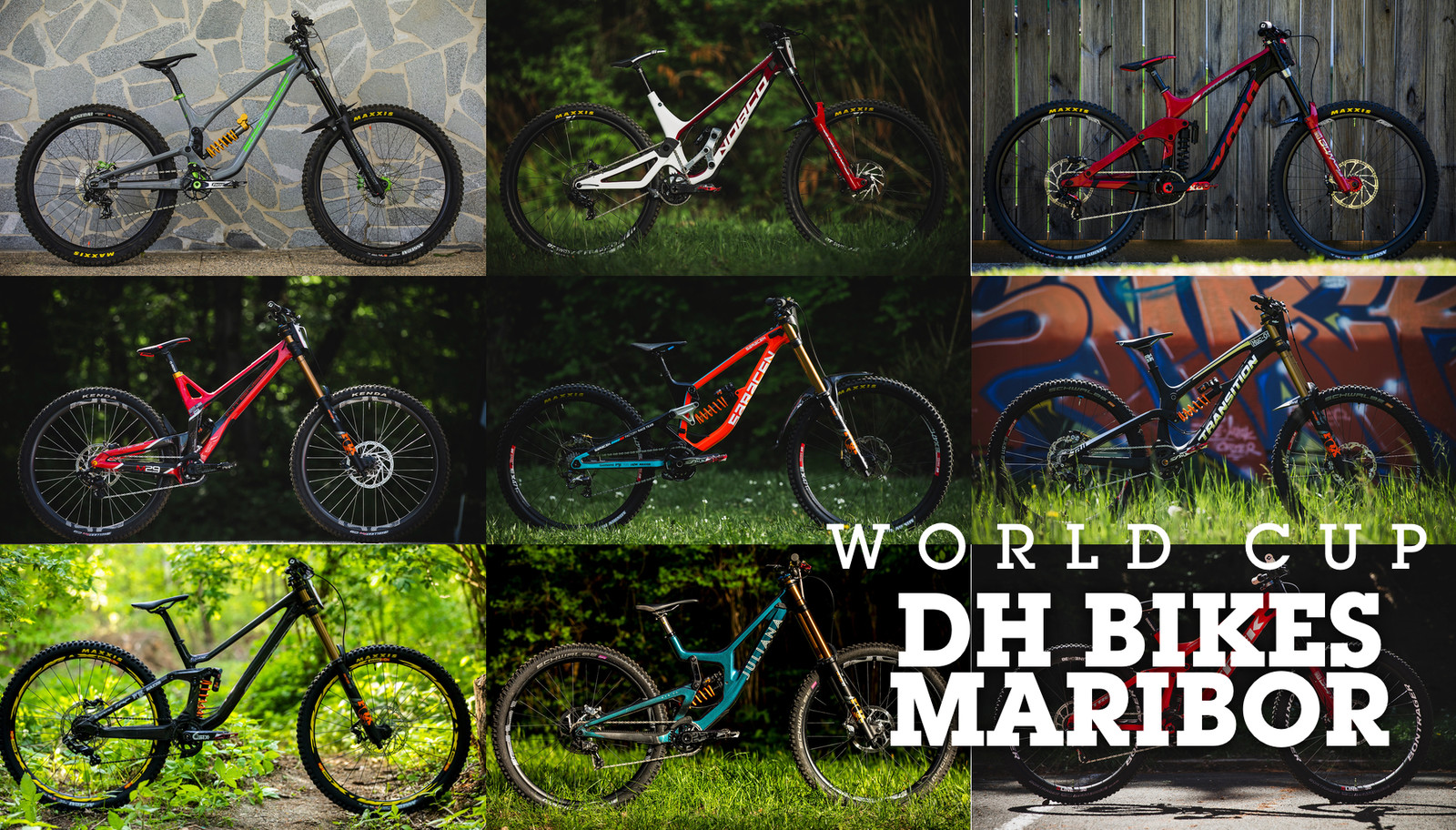WORLD CUP DH BIKES - Maribor