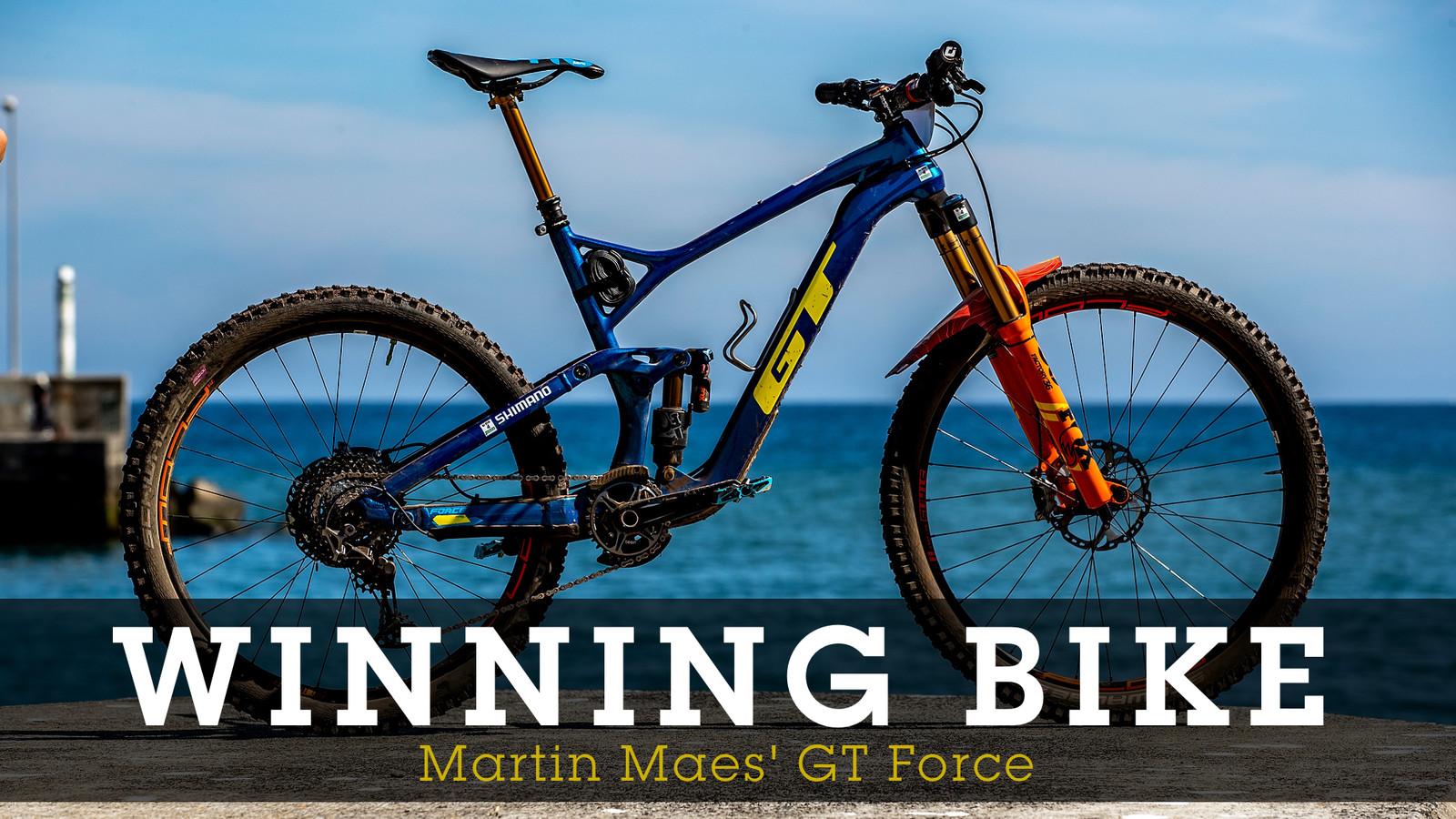 WINNING BIKE - Martin Maes' GT Force 69er