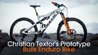 Christian Textor's Prototype Bulls Enduro Bike