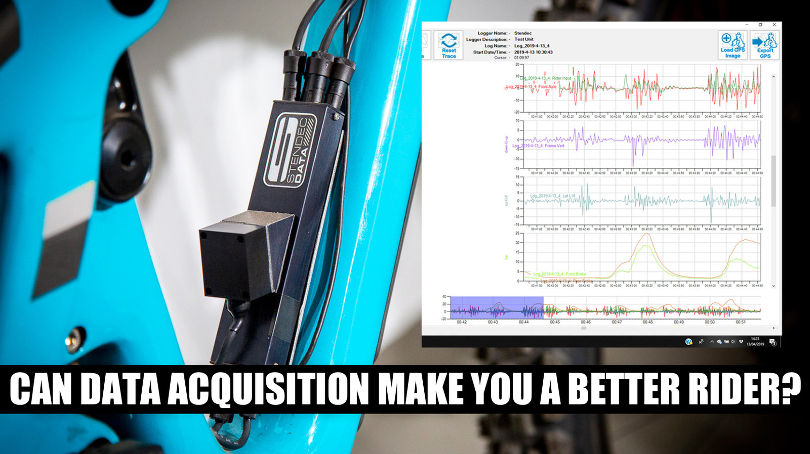 Can Data Acquisition Make You a Better Rider? We Work with Stendec's Dave Garland to Find Out