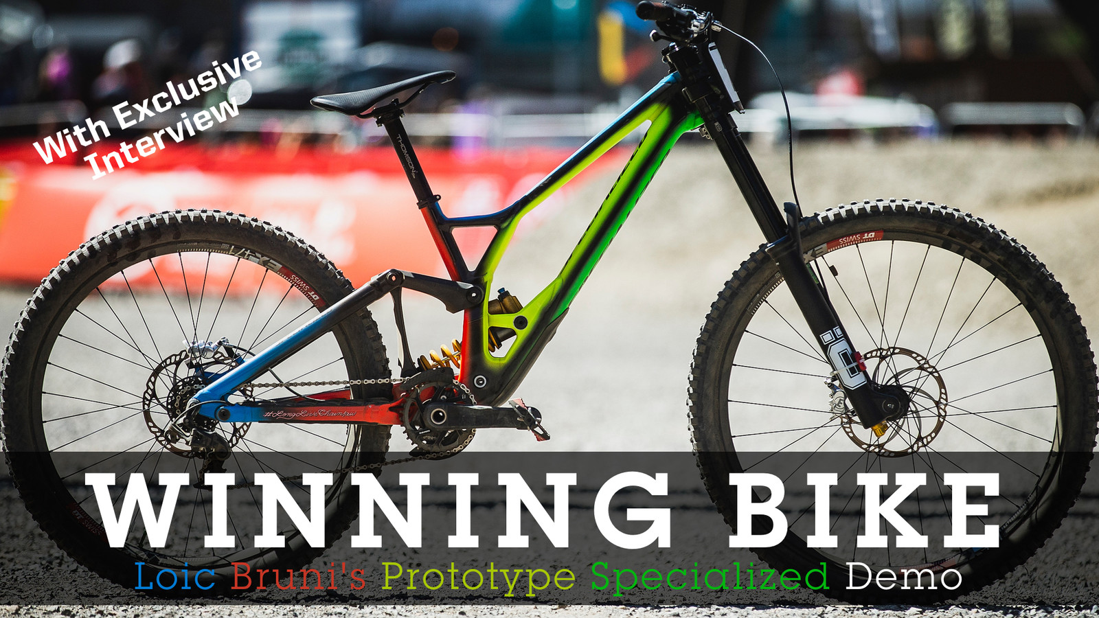 WINNING BIKE - Loic Bruni's Prototype Specialized Demo - Mountain