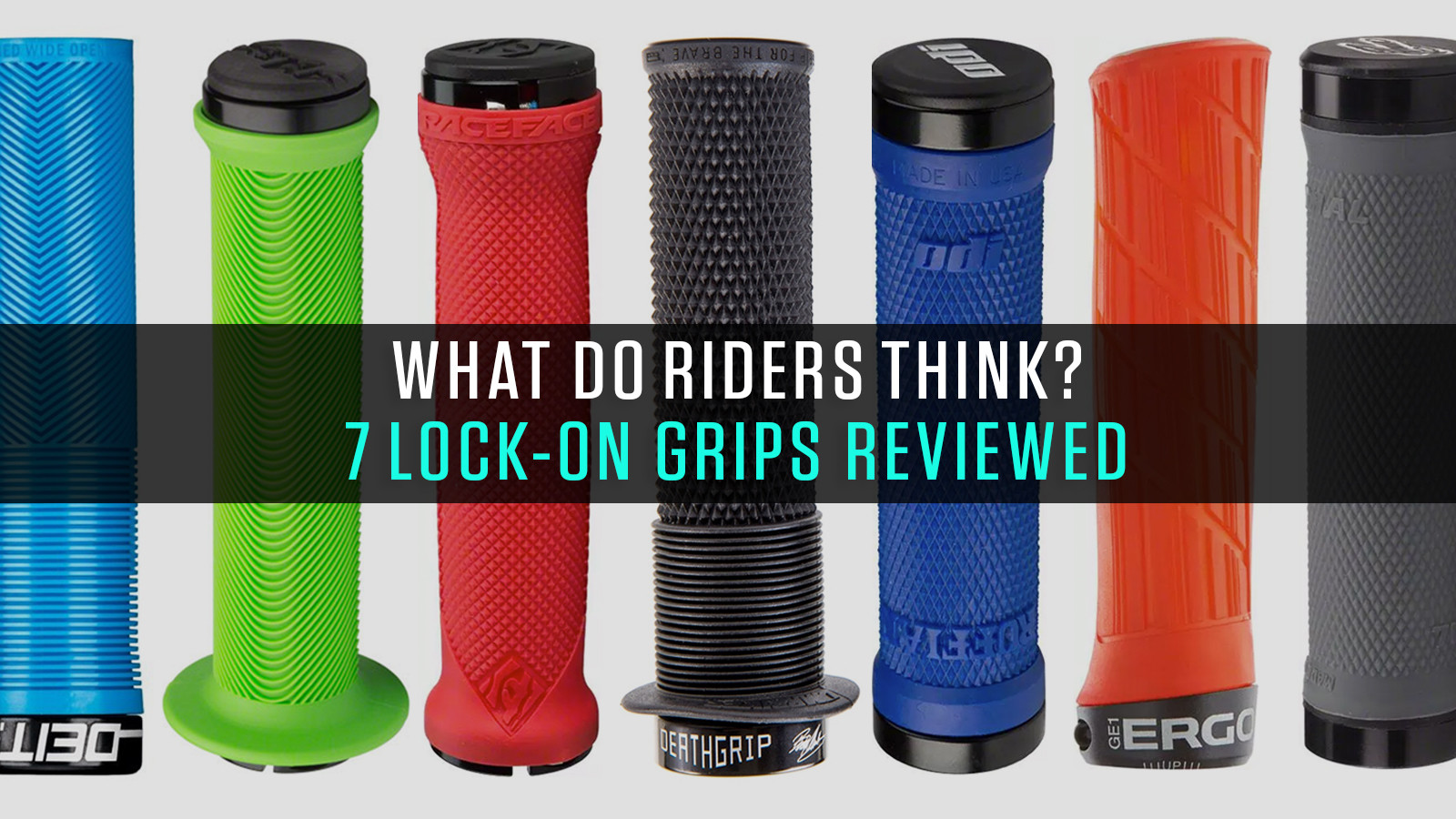 What Do Riders Think? Seven Lock-On Grips Reviewed by Vital MTB Members