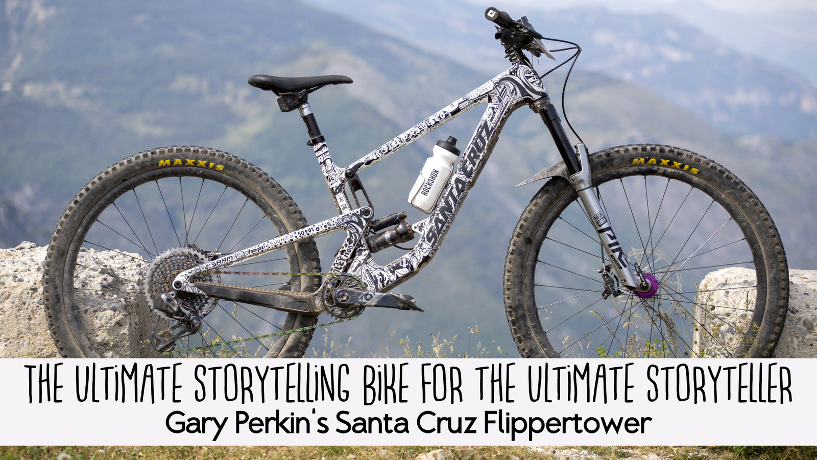 The Ultimate Storytelling Bike for the Ultimate Storyteller - Gary Perkin's Santa Cruz Flippertower