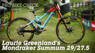 Pro Bike Check - Laurie Greenland's Mondraker Summum 29/27.5