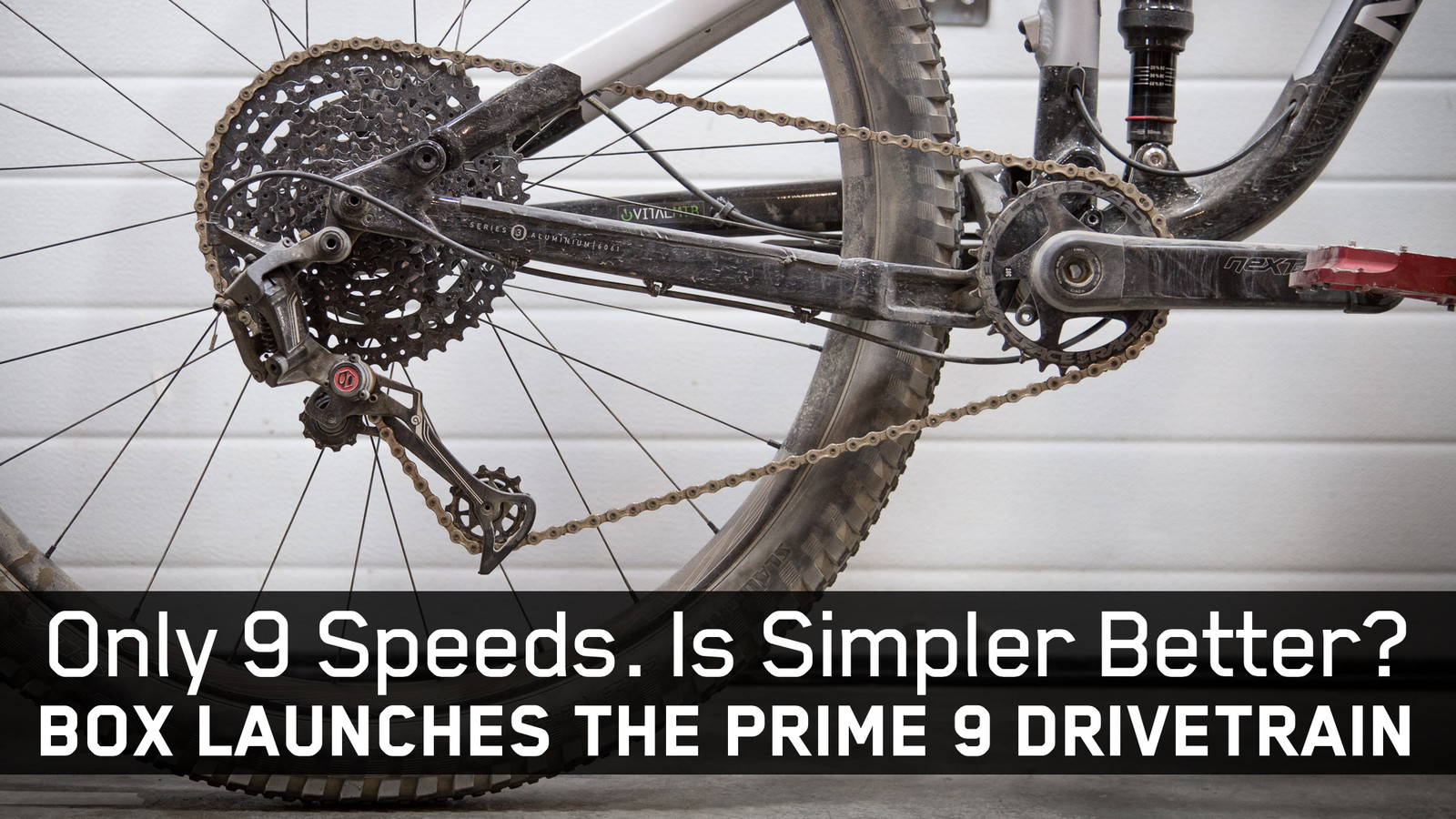 Only Nine Speeds. Is Simpler Better? BOX Launches Prime 9 Drivetrain