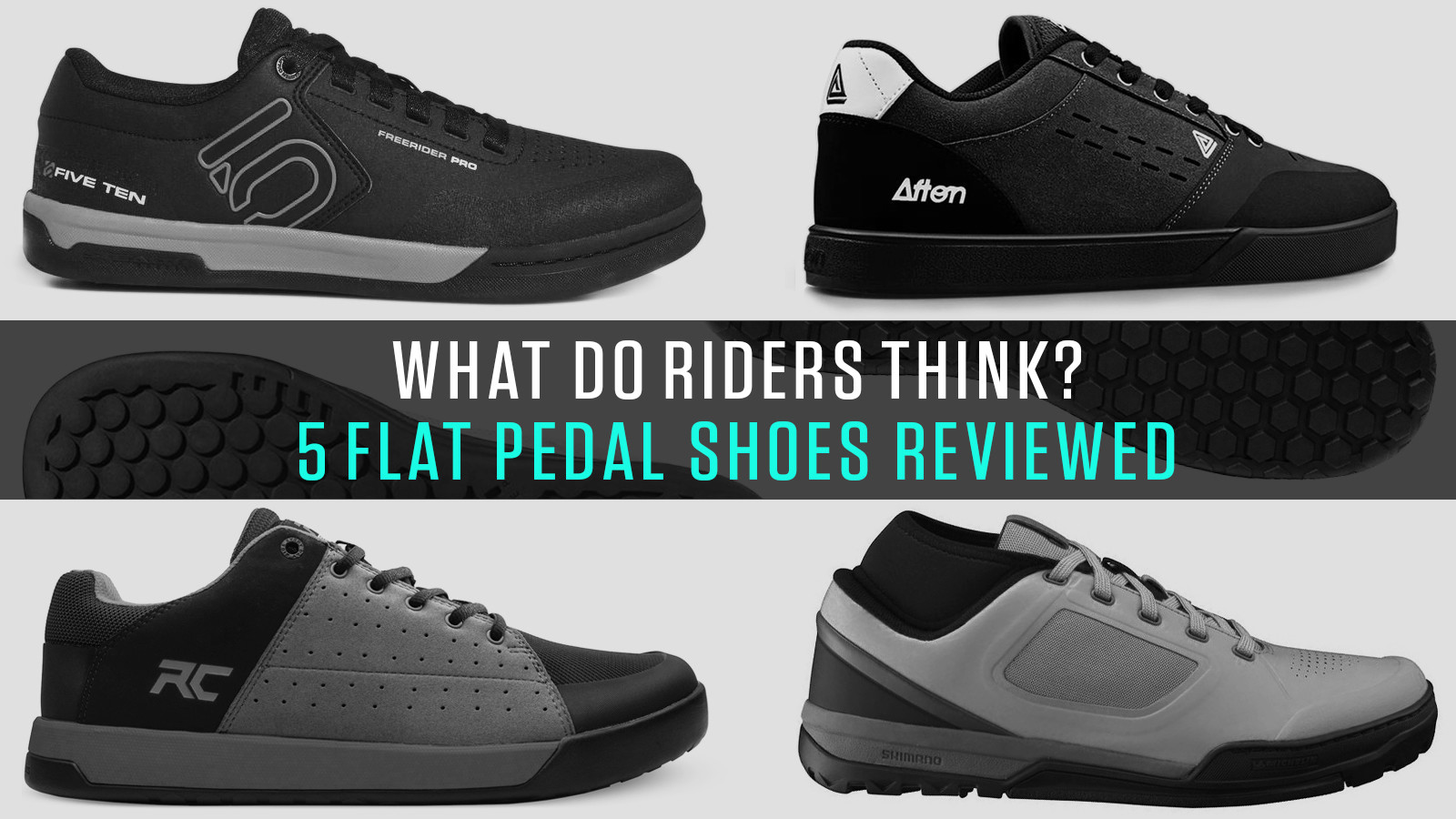 Five Flat Pedal Shoes Reviewed by Vital