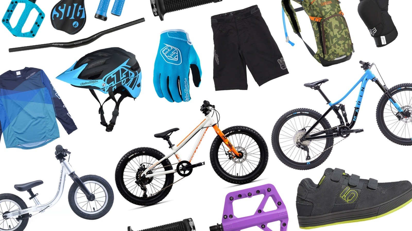 Holiday Gift Guide: Mountain Bikes and Gear for Kids