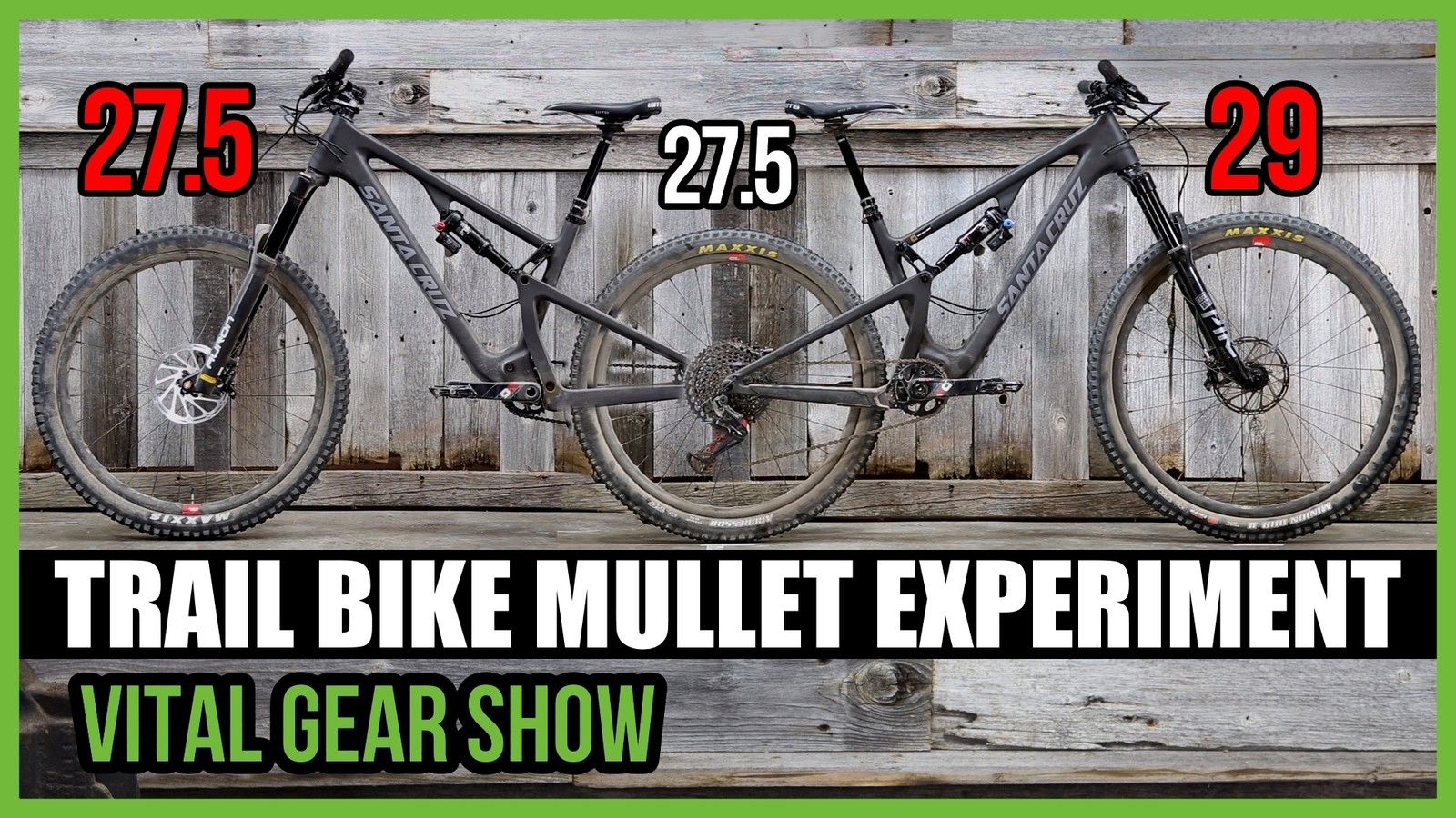 TRAIL BIKE MULLET EXPERIMENT - Vital Gear Show