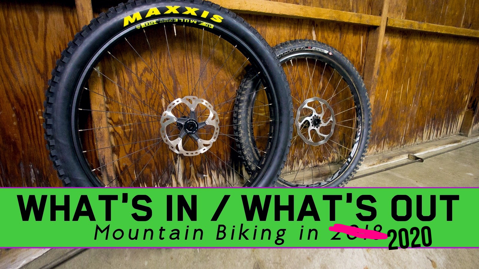 What's In, What's Out - Mountain Biking in 2020