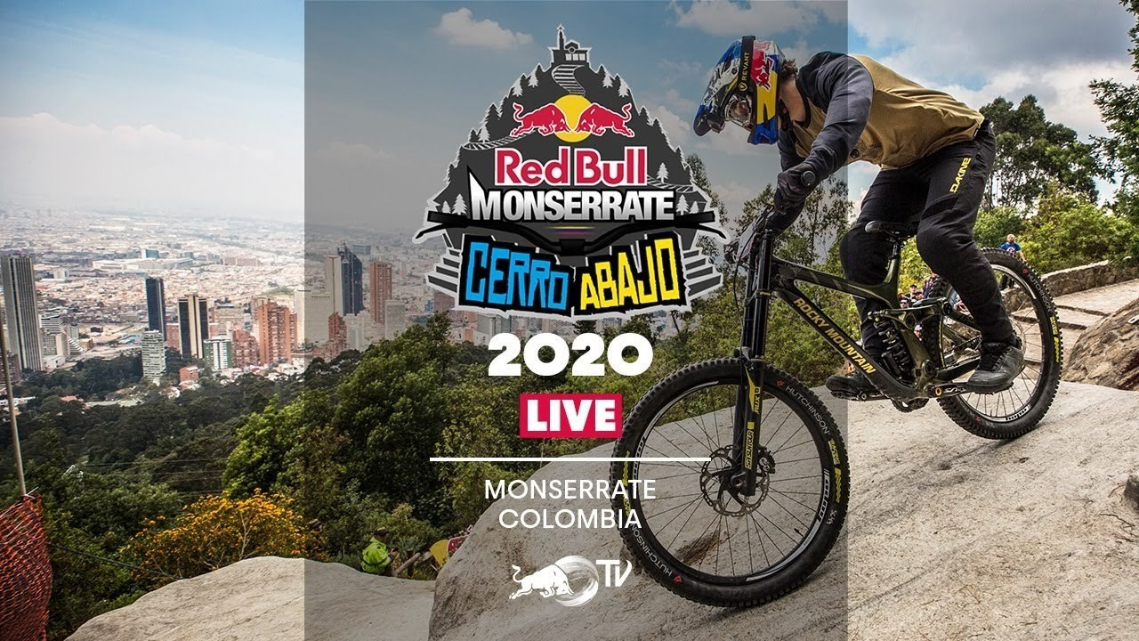 LIVE Urban Downhill from the 2020 Red Bull Monserrate Cerro Abajo