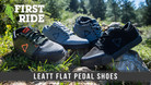 First Ride: Leatt DBX 2.0 and 3.0 Flat Pedal Shoes