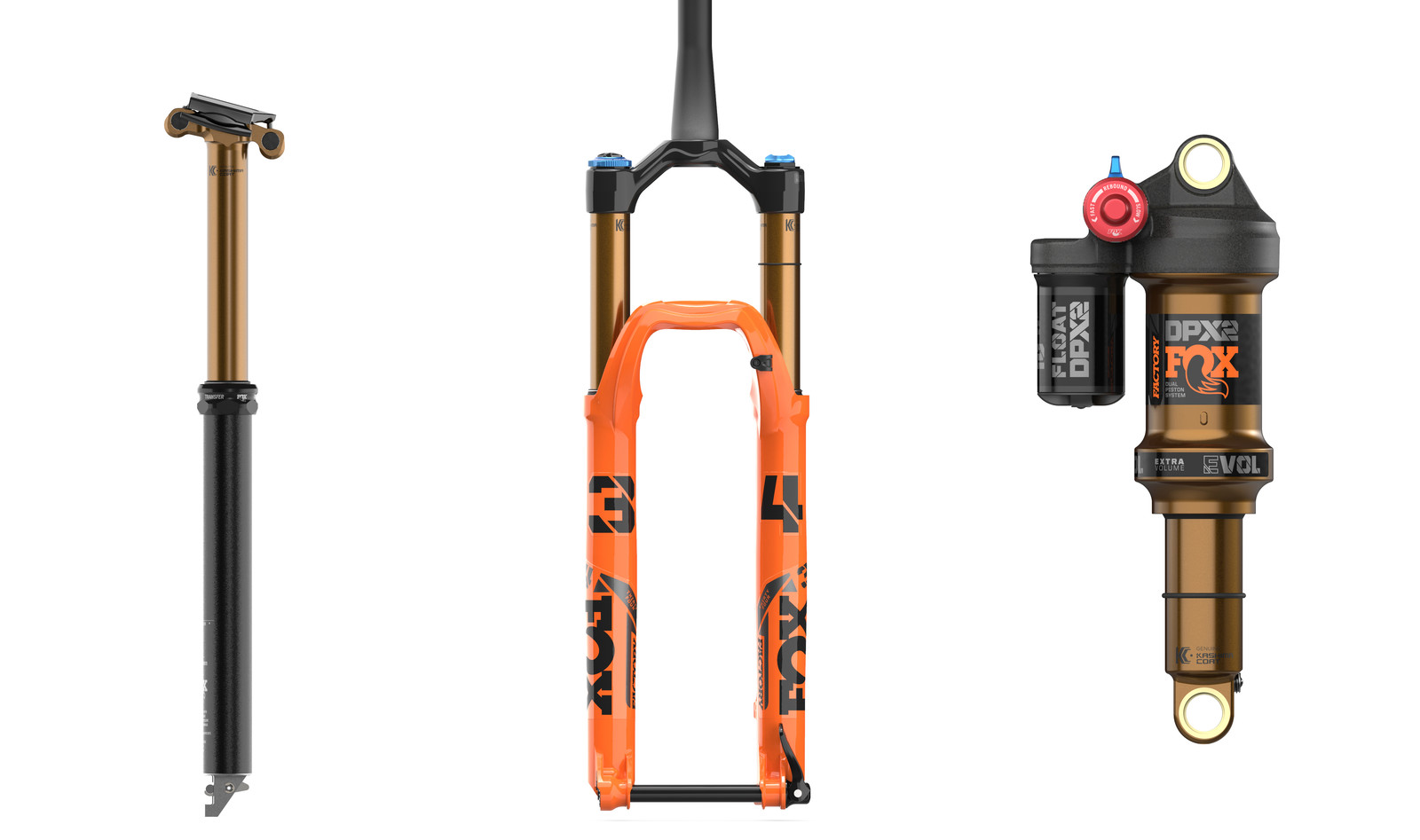 FOX Introduces All-New Transfer Dropper Post, Updated 34 Fork and DPX2 Shock
