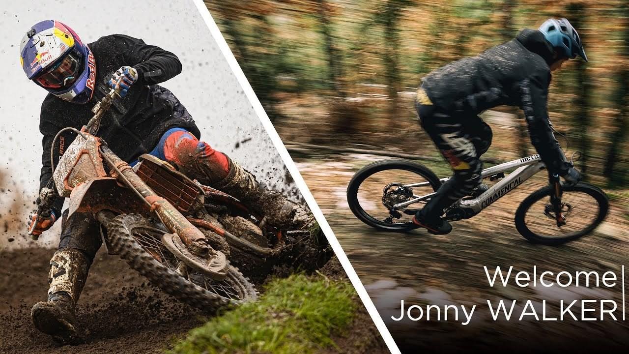 Moto Enduro Rider Jonny Walker on E-Bike Cross-Training