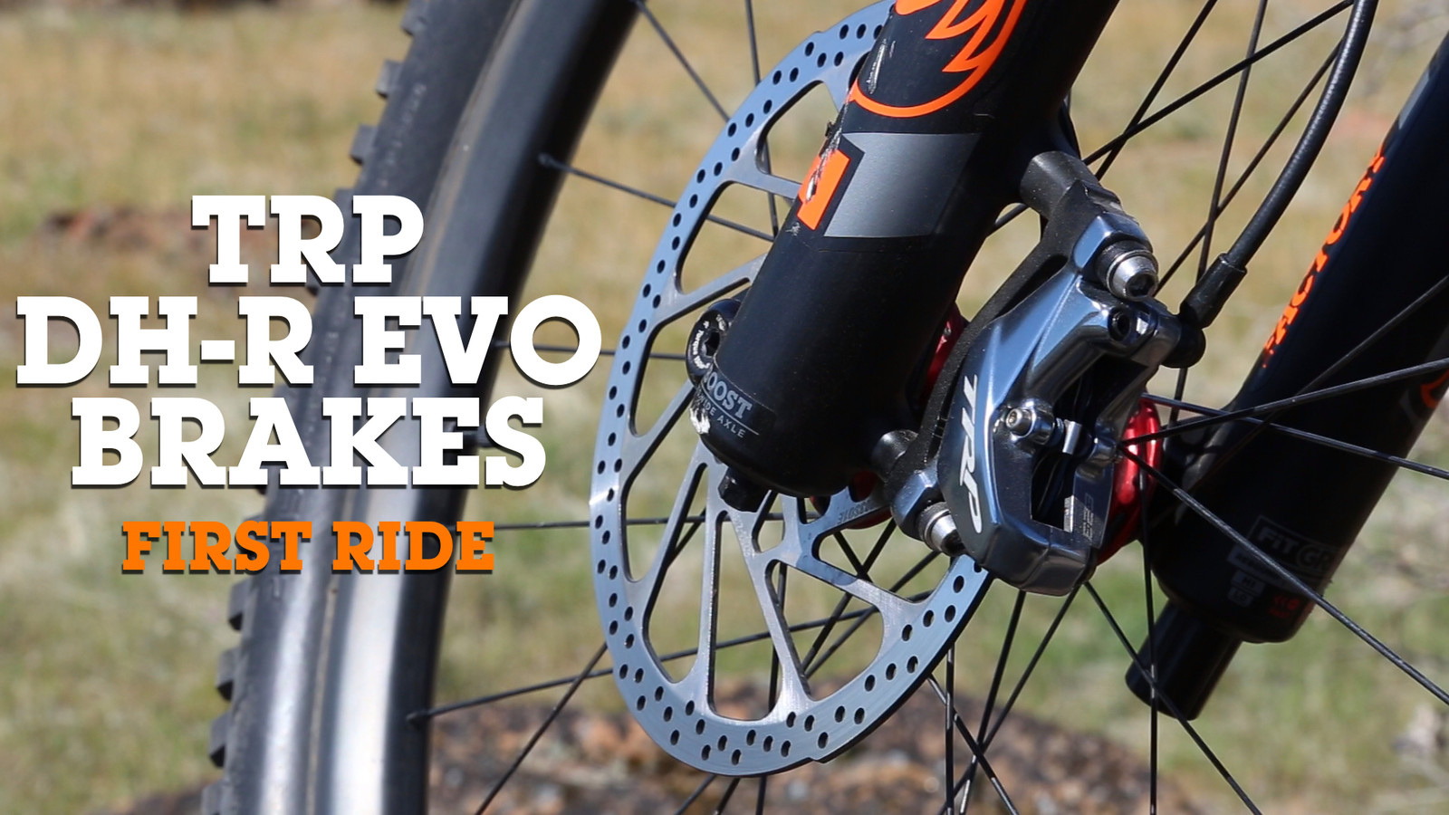 TRP Releases DH-R EVO Brakes - FIRST RIDE