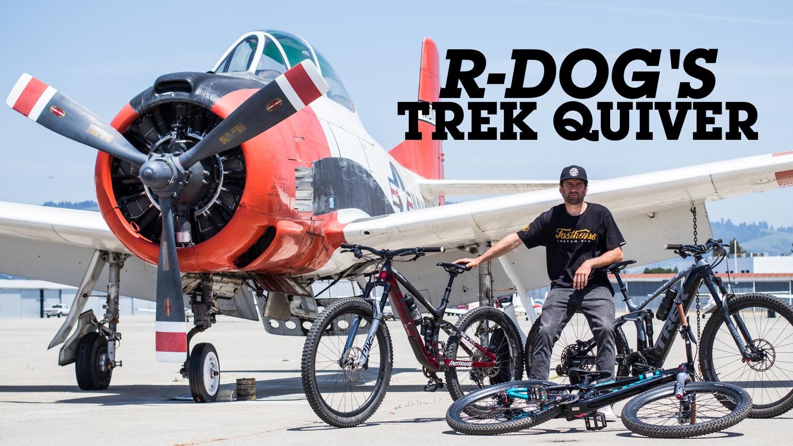 Ryan Howard's Trek Mountain Bike Quiver - Pro Bike Check