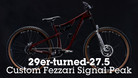 29er-turned-27.5 - Kurtis Downs' Custom Fezzari Signal Peak