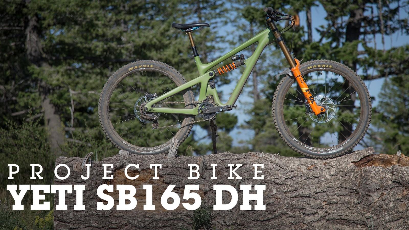 The Ultimate Park Bike? Vital's Yeti SB165 Project