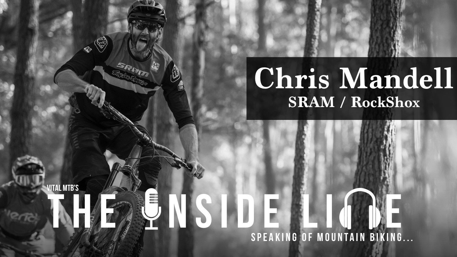 MTB Suspension Talk and Big Rides - The Inside Line with SRAM's Chris Mandell