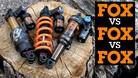 FOX vs FOX vs FOX - DHX2 Coil, Float X2 and Float DPX2 Shock Comparison