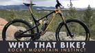 Why That Bike? | Rocky Mountain Instinct
