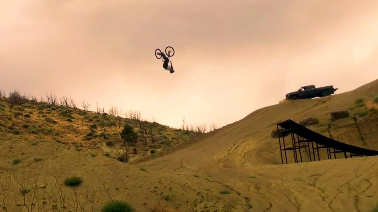 110-foot Backflip? Cam Zink and Clay Porter Make A Recipe for Massive Jumps in Sandbox