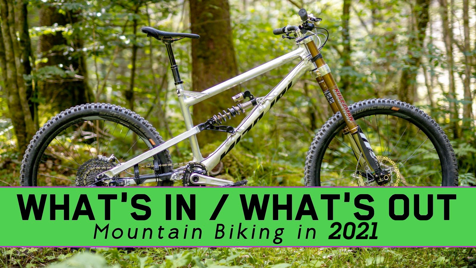 What's In / What's Out - Mountain Biking in 2021