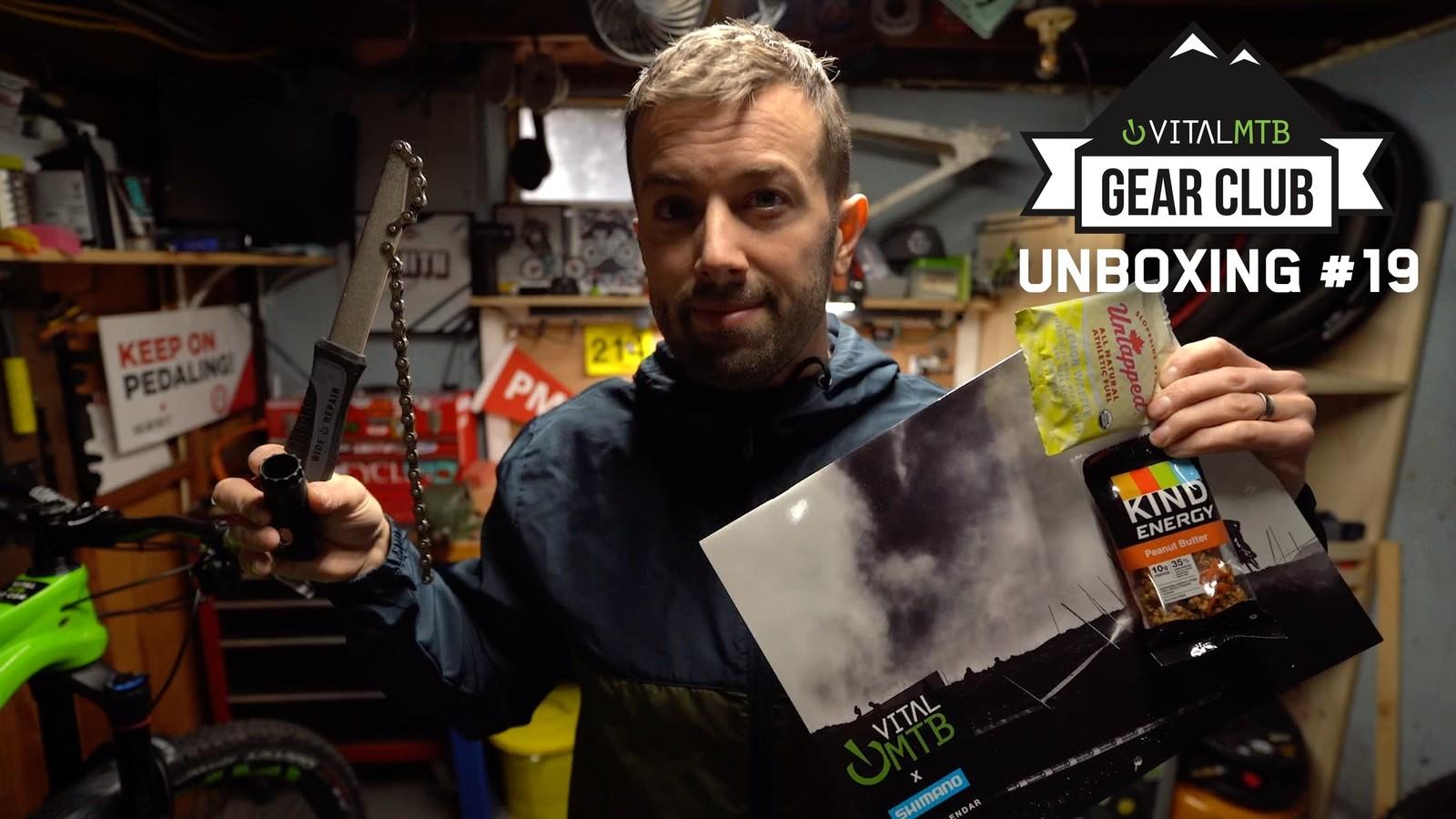 Unboxing Vital MTB Gear Club 19 - December 2020