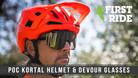 First Ride: POC Kortal Helmet and Devour Riding Glasses