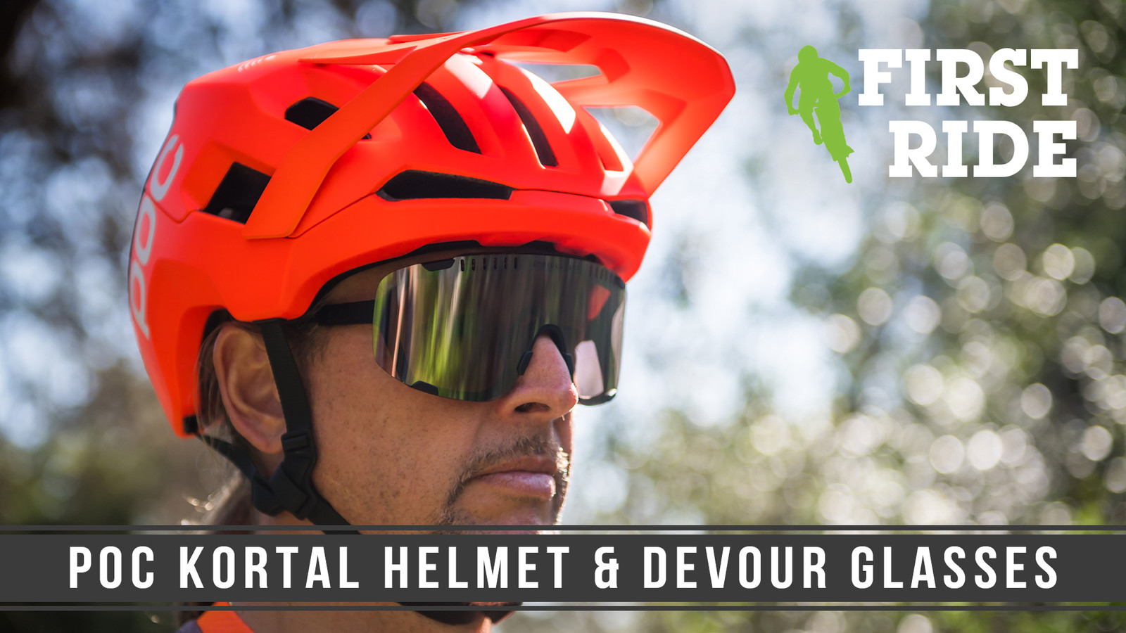 First Ride: POC Kortal Helmet and Devour Riding Glasses