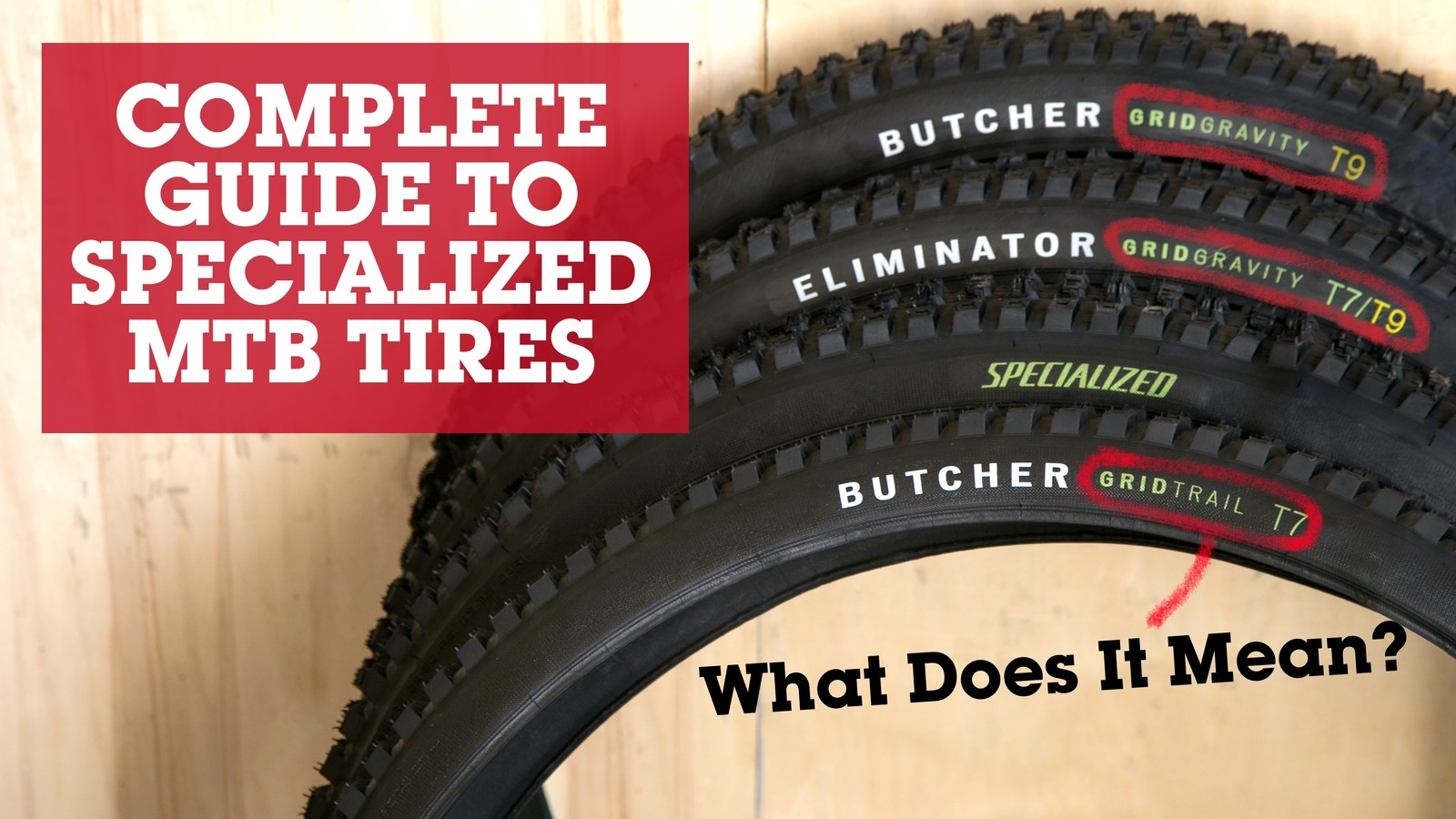 The Complete Guide to Specialized Mountain Bike Tires