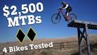 $2,500 Full-Suspension Mountain Bike Comparison Test