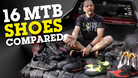 Which MOUNTAIN BIKE Shoe is BEST? 16 Different MTB Kicks Compared