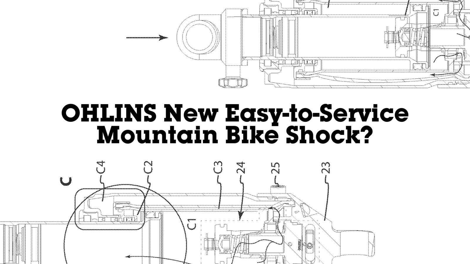 Ohlins New Easy-to-Service Mountain Bike Shock?