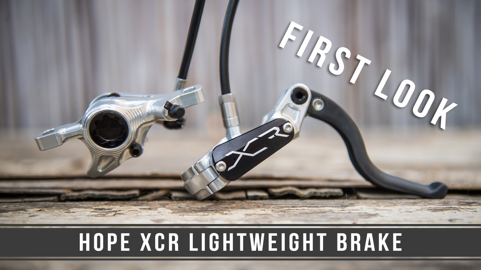 Hope's All-New, 198-gram XC Brake - First Look