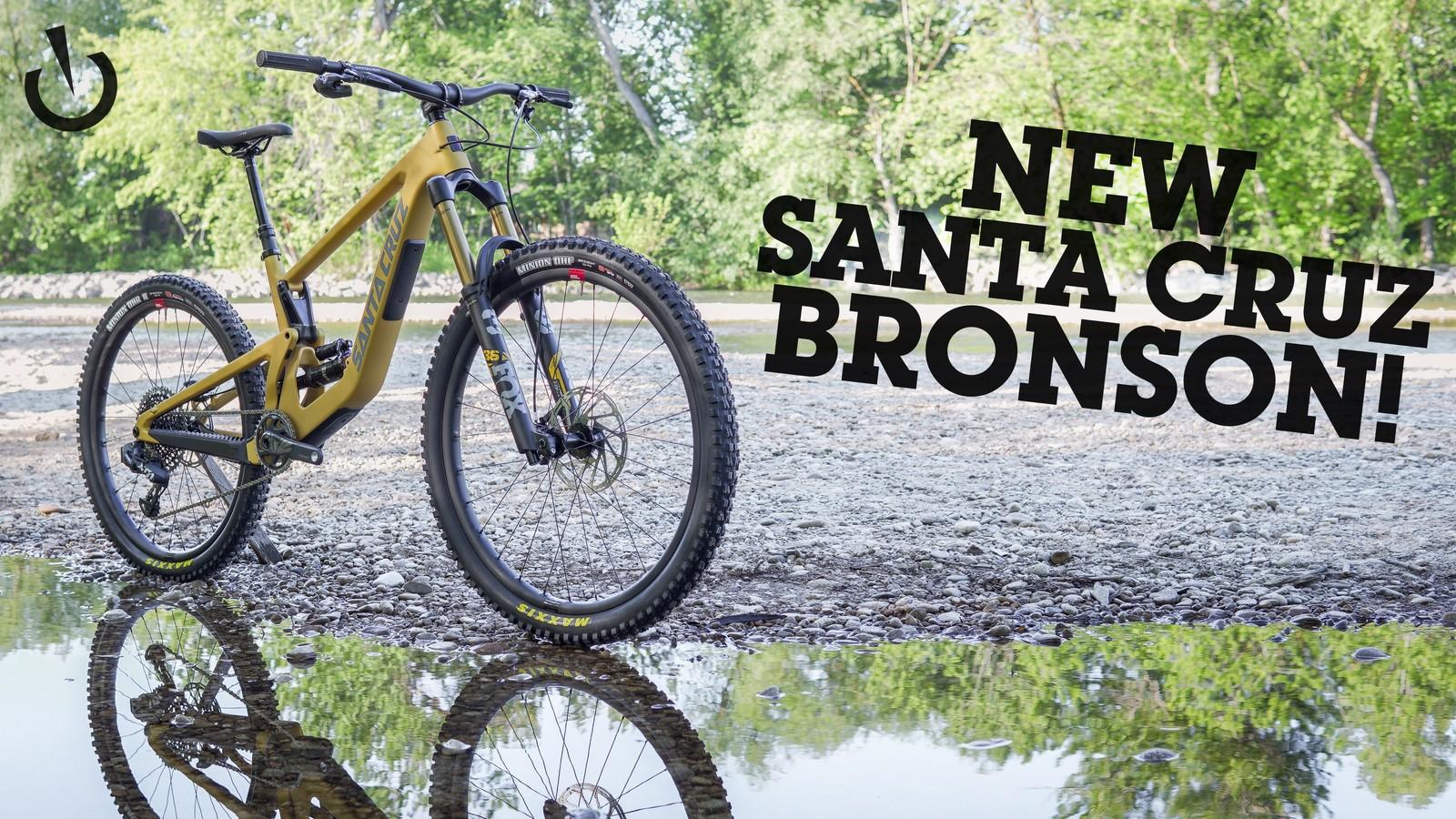 First Ride - 2022 Santa Cruz Bronson MX