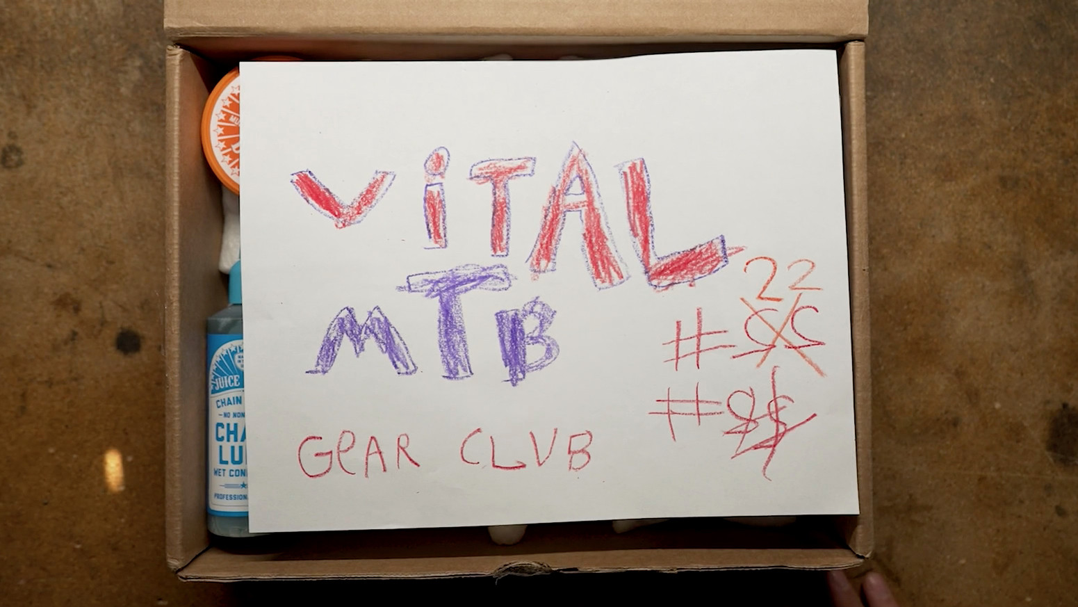 Vital MTB Gear Club Unboxing 22 - Our New Graphics Guy is Incredible!