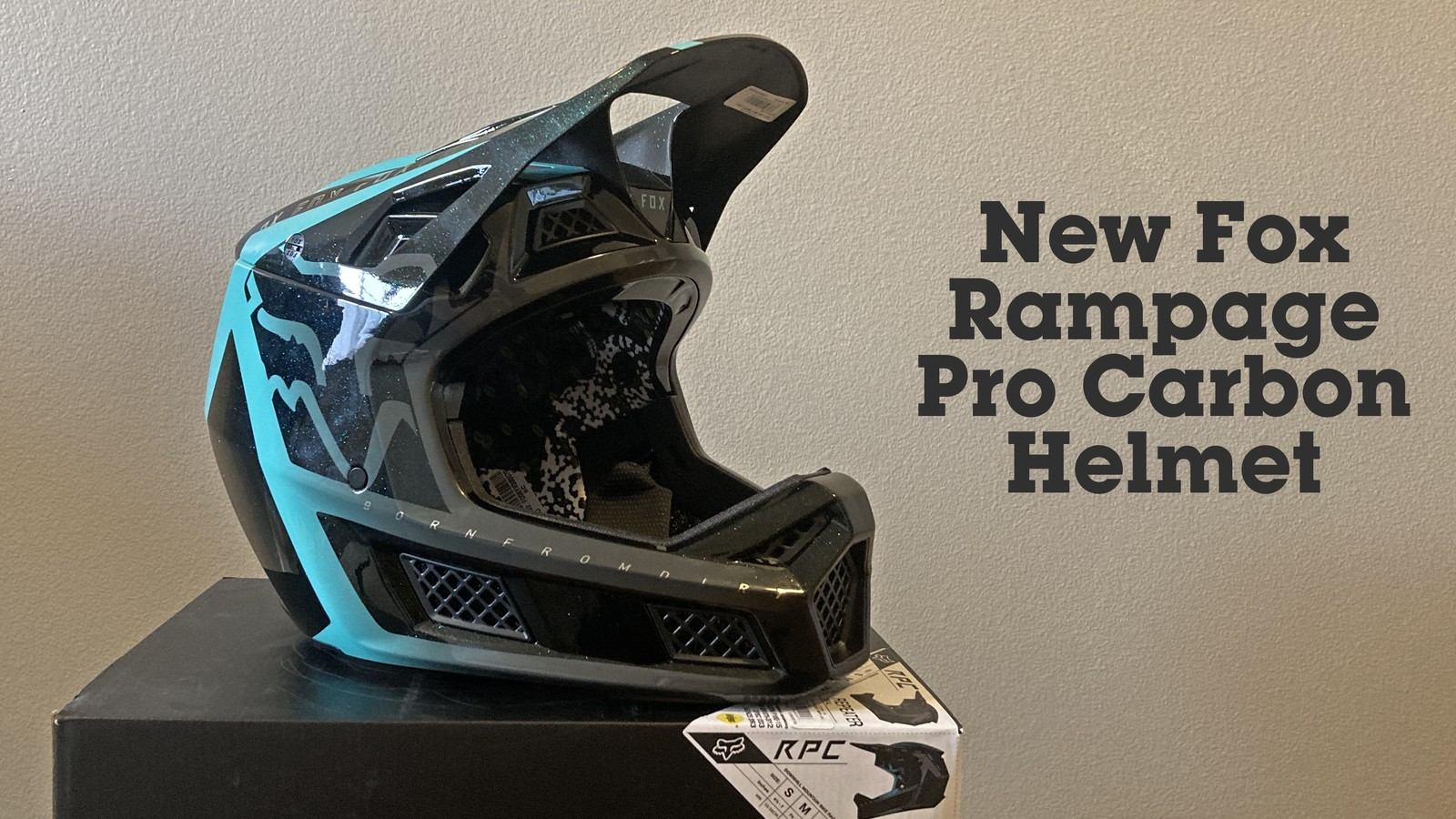Fox Racing Introduces New Rampage Pro Carbon Helmet