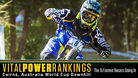 Vital Power Rankings - Cairns, Australia World Cup - The 15 Fastest Racers Going In