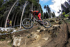 First World Cup DH Win?