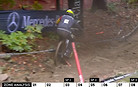 UCI DH Rule Unclear - DSQ for Riding Over a Course-Marking Pole?