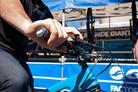 Yoann Barelli's Brake Lever Position