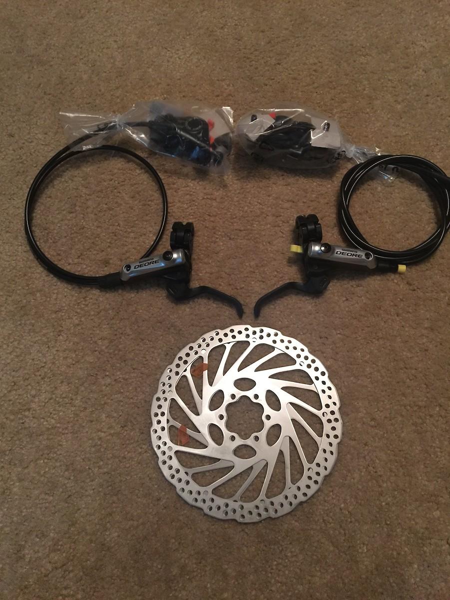 Brakes Plus Near Me >> 2015 Shimano Deore M615 Disc Brakes Buy Sell Mountain Biking