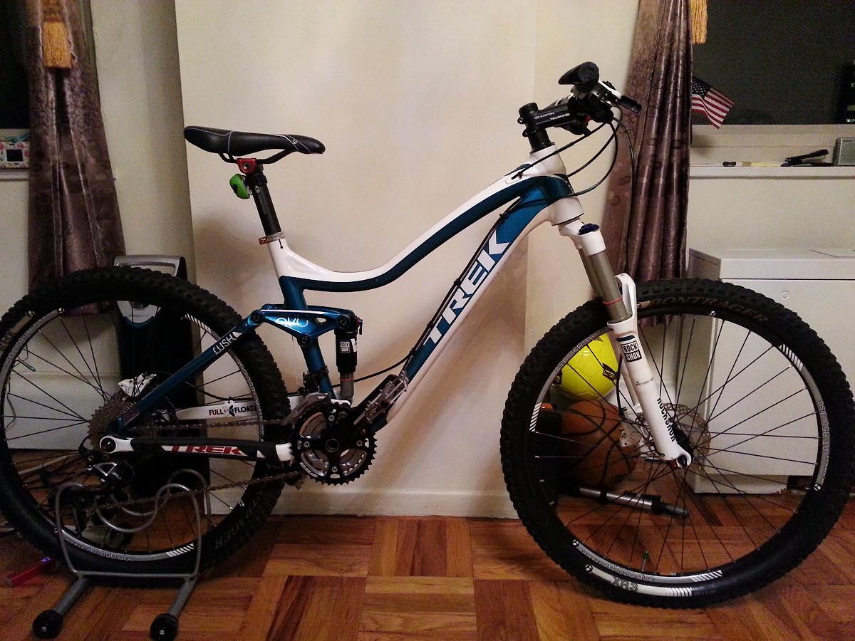 sell 2013 trek lush bike ( s siza ) - Buy & Sell - Mountain Biking